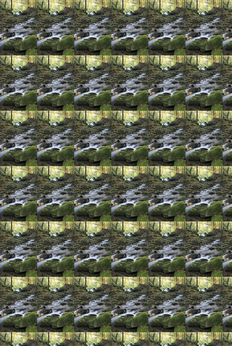 Vinylová Tapeta Podzimní Creek - Roční období