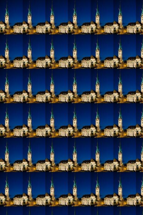 Vinylová Tapeta Fraumunster kostel v Curychu - Evropa