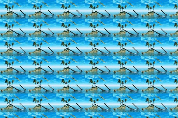 Vinylová Tapeta Dinosaurů ve vodě - Témata