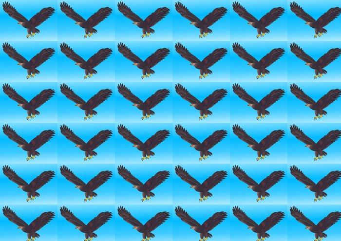 Vinylová Tapeta Ilustrace létání silný orel - Témata