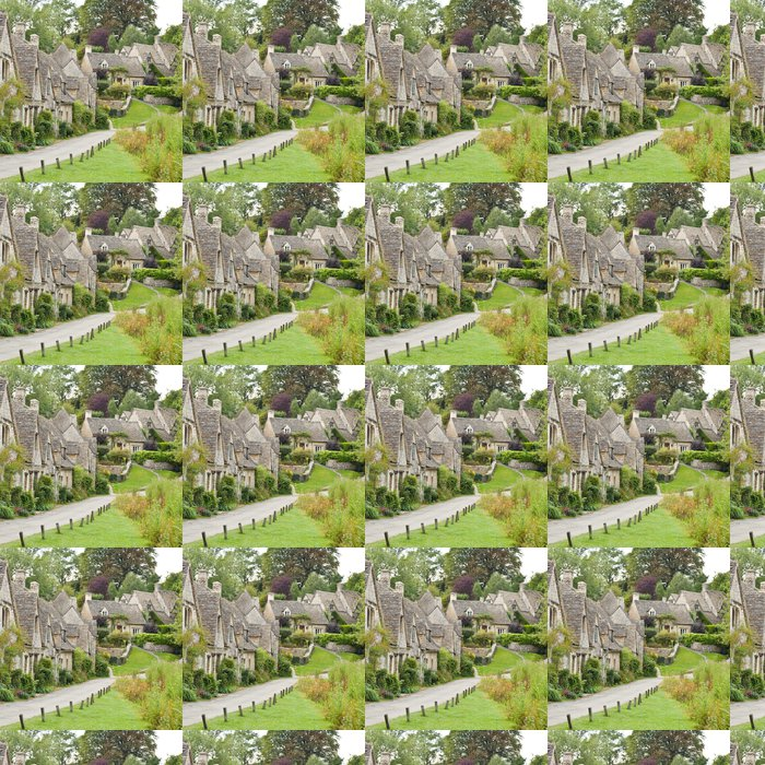 Vinylová Tapeta Cotswold obec Bibury - Evropa