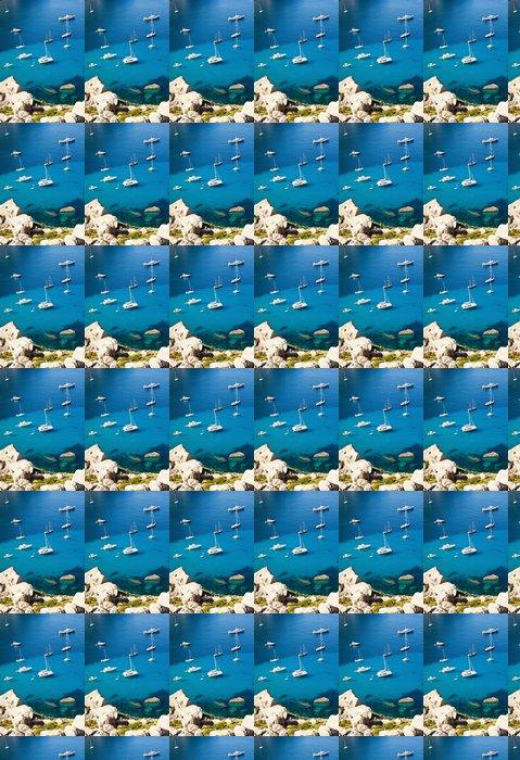 Vinylová Tapeta Jachty Mallorca bay, Španělsko - Španělsko