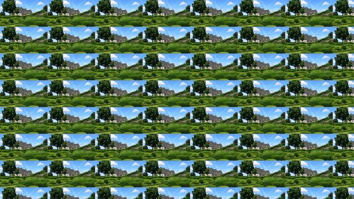 Vinylová Tapeta Jardins de Marqueyssac - Prázdniny