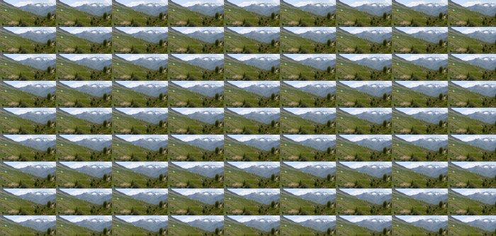 Papier peint à motifs vinyle Les pyrenees - Montagne