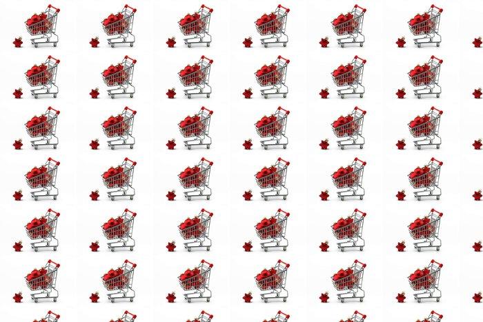 Vinylová Tapeta Vánoční nákupy - Mezinárodní svátky