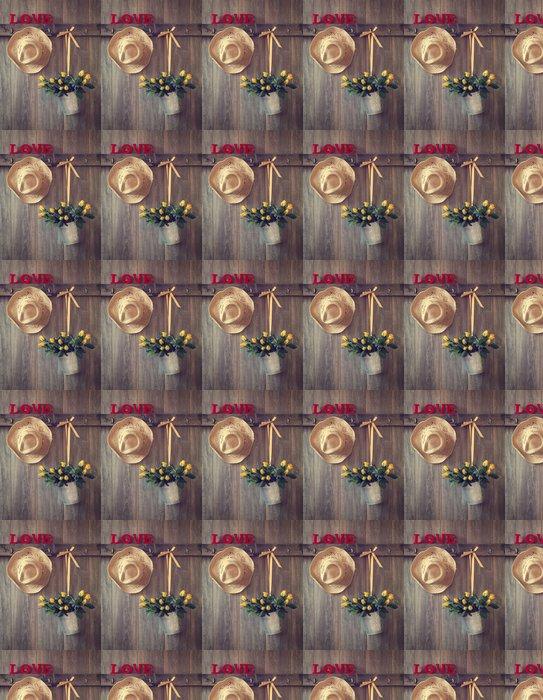 Vinylová Tapeta Valentine Roses - Mezinárodní svátky