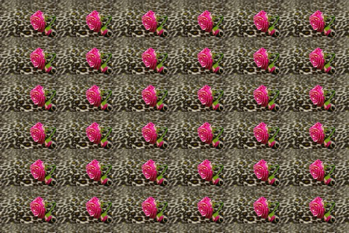 Pink rose Vinyl Wallpaper - Textures