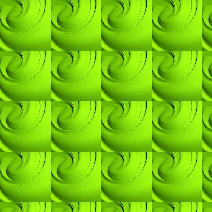 Vinylová Tapeta Abstraktní zelené whirlpool. Čisté, detailní render. - Pozadí