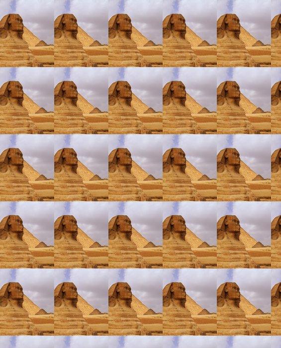 Vinylová Tapeta Sfinga Egypta 02 - Afrika