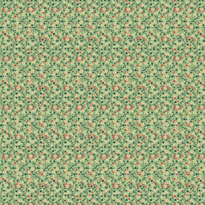Vinyltapete Blühende Zweige - Texturen