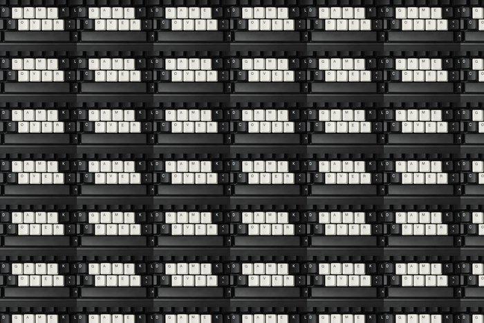 Vinylová Tapeta Konec hry - Elektronika