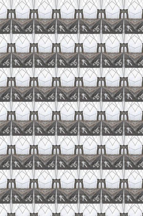 Vinylová Tapeta Brooklynský most Lanes - Americká města