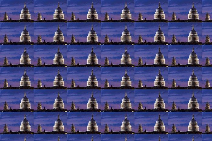 Vinylová Tapeta Katedrála svatého Pavla za soumraku - Evropská města