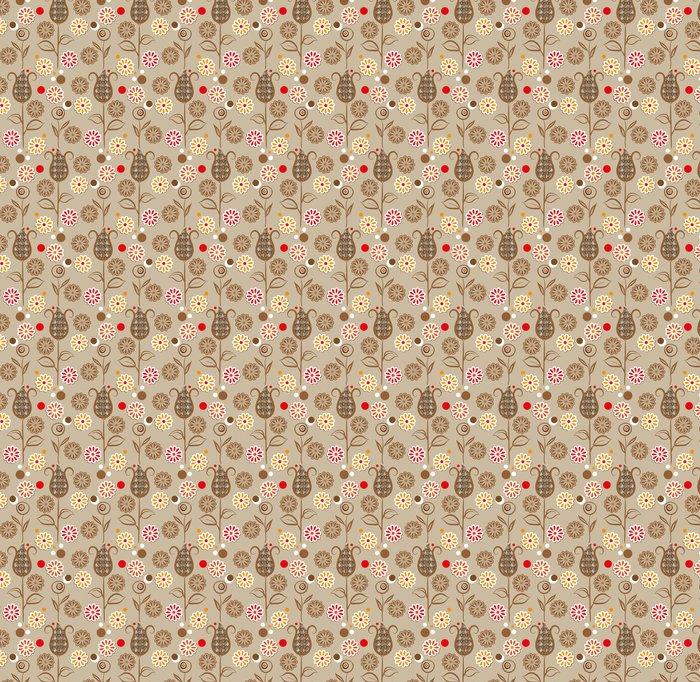 Vinylová Tapeta Vintage květiny bezešvé vzor - Styly