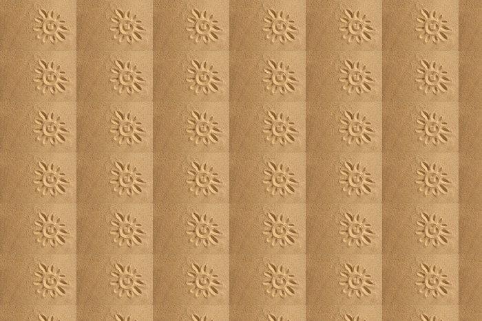 Vinylová Tapeta Slunce na písku - Přírodní krásy
