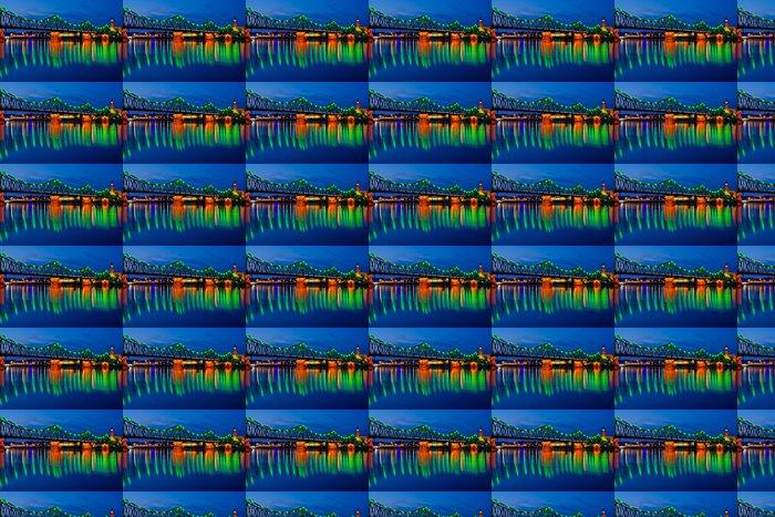 Vinylová Tapeta Krásná Zvýrazněné most v Wloclawek - Témata