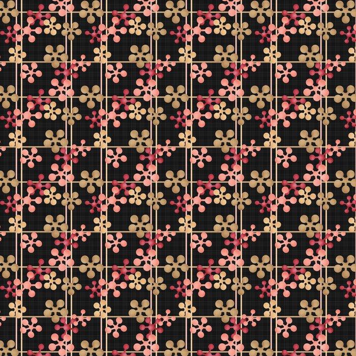Vinylová Tapeta Abstraktní geometrické retro bezešvé vzor na pozadí - Pozadí