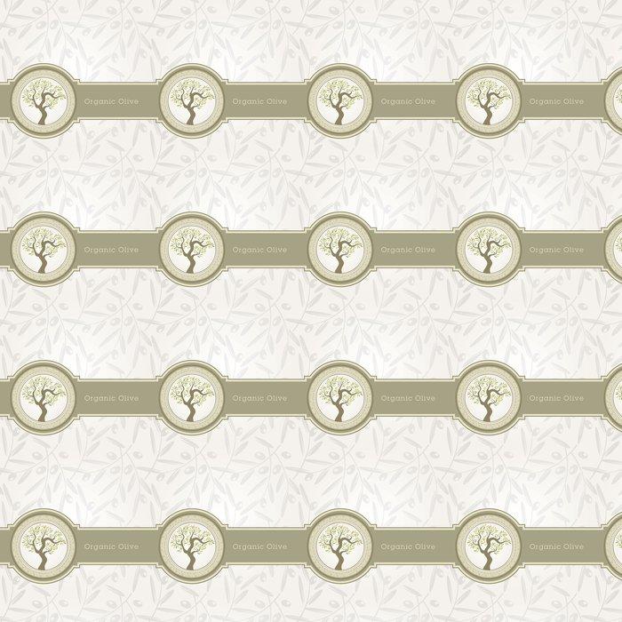 Tapete Olivenöl Etikettenvorlage • Pixers® - Wir leben, um zu verändern