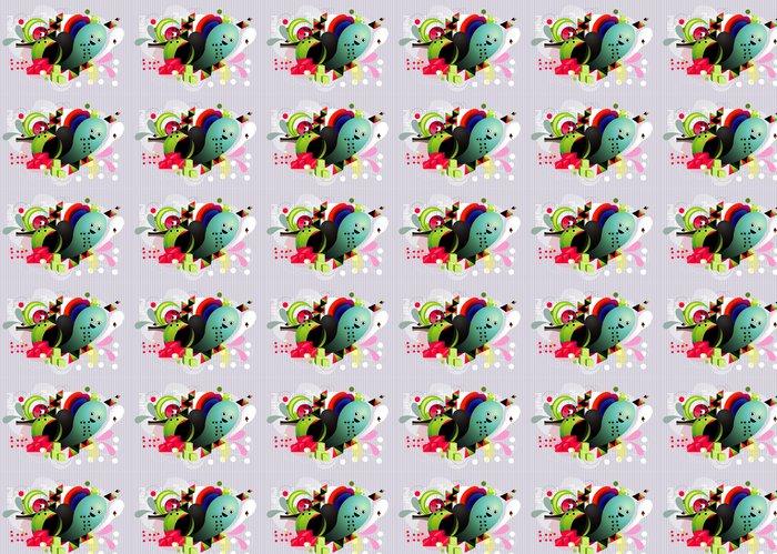 Vinylová Tapeta Vektorové geometrie barevné ilustrace - Jiné pocity