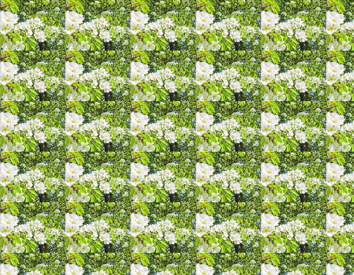 Vinylová Tapeta Hrušeň s květinami - Stromy