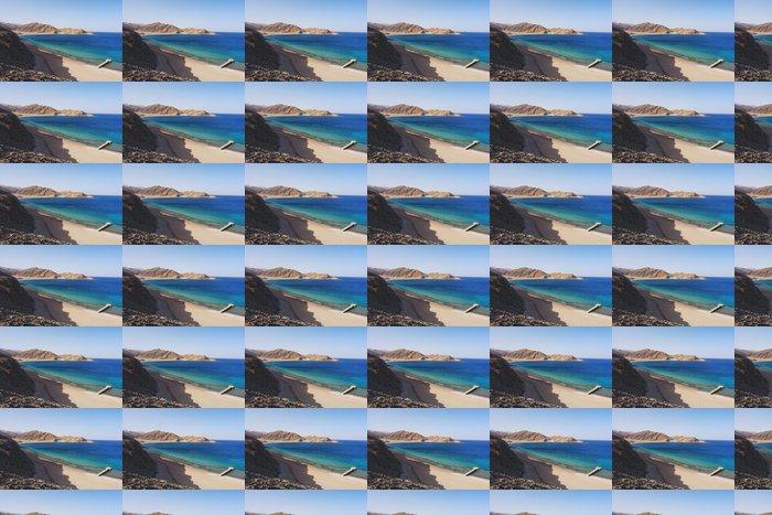 Vinylová Tapeta Pohled na Rudého moře a pobřeží Sinai v Taba, Egypt - Afrika