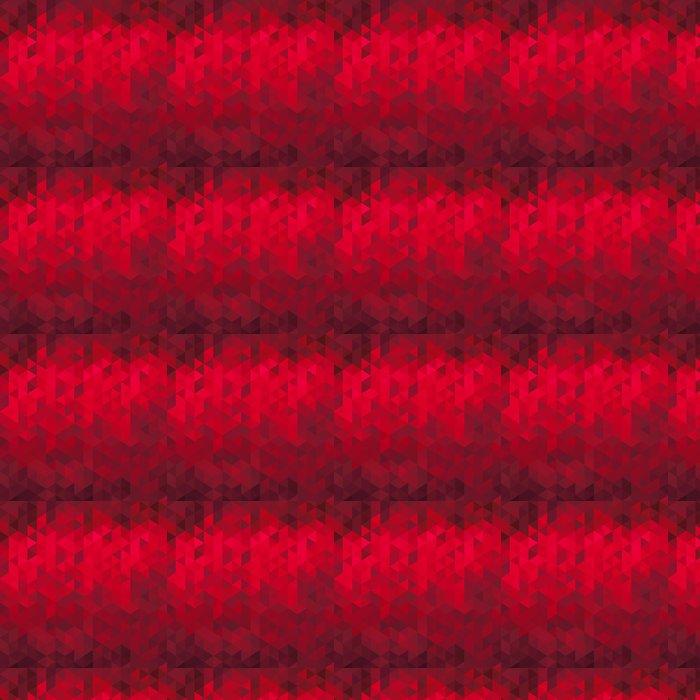 Vinylová Tapeta Abstraktní červeném geometrické pozadí - origami - Národní svátky