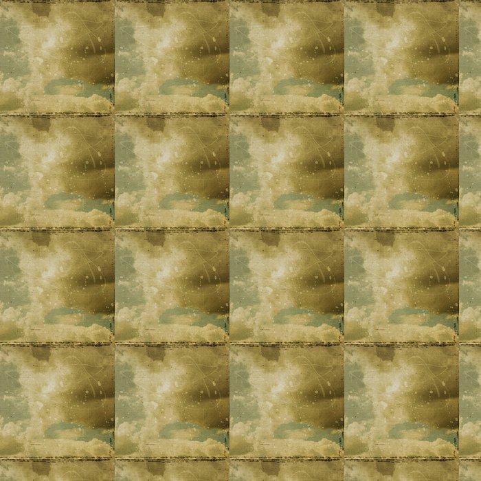 Vinylová Tapeta Grunge oblačnosti pozadí, vinobraní papír textury - Umění a tvorba