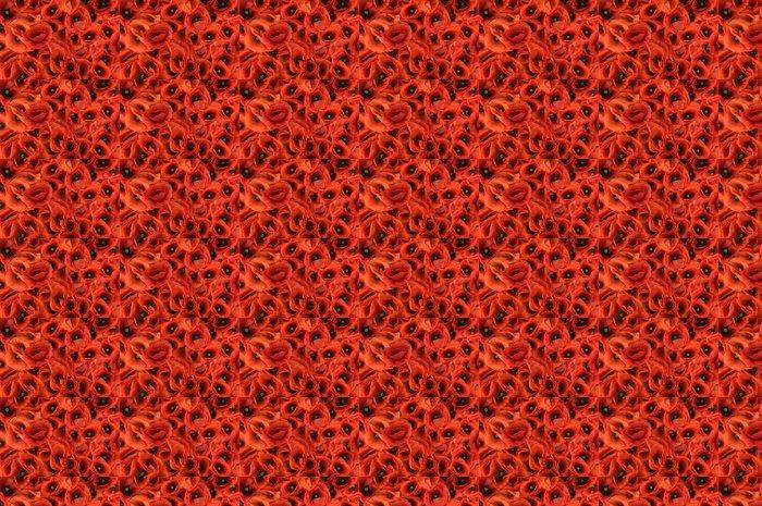 Vinylová Tapeta Červená jarní mák textury na pozadí - Struktury