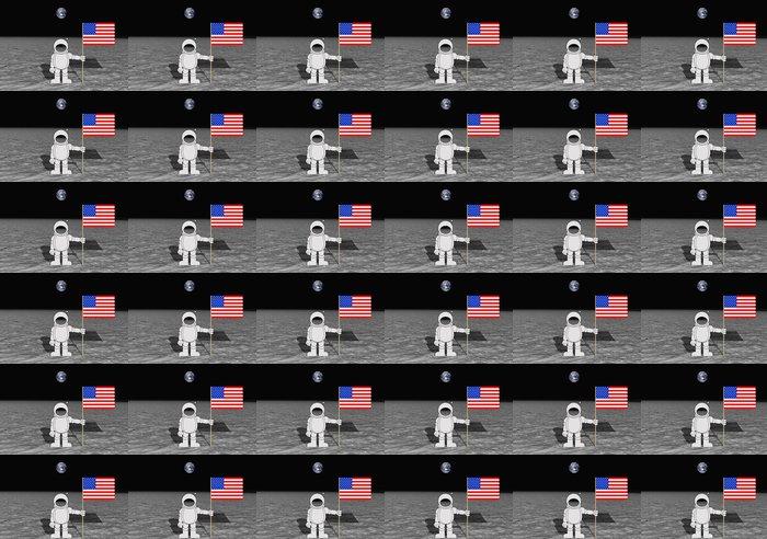 Vinylová Tapeta Přistání na měsíci - Meziplanetární prostor