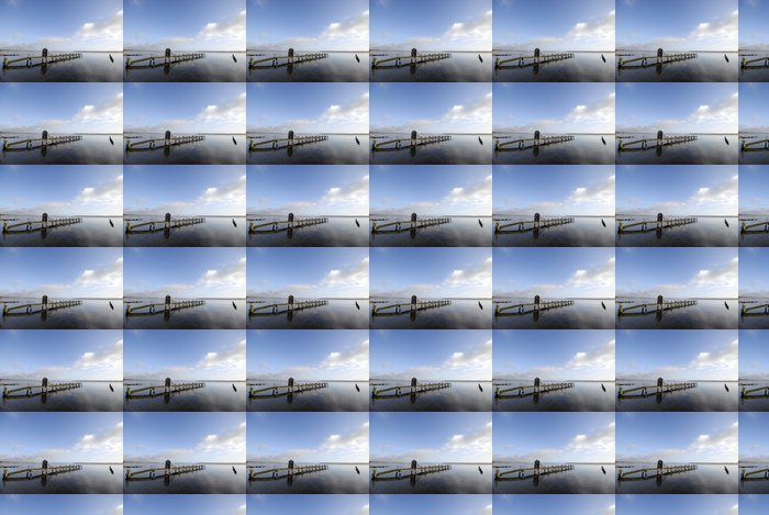 Vinylová Tapeta Modré ráno na pláži - Evropa