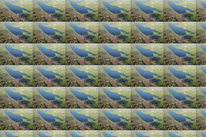 Vinylová Tapeta Letecký pohled na jezero. Amsterdam předměstí - Evropa