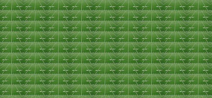 Vinylová Tapeta Dvacet třicet linka yardu na americký fotbal pole - Týmové sporty