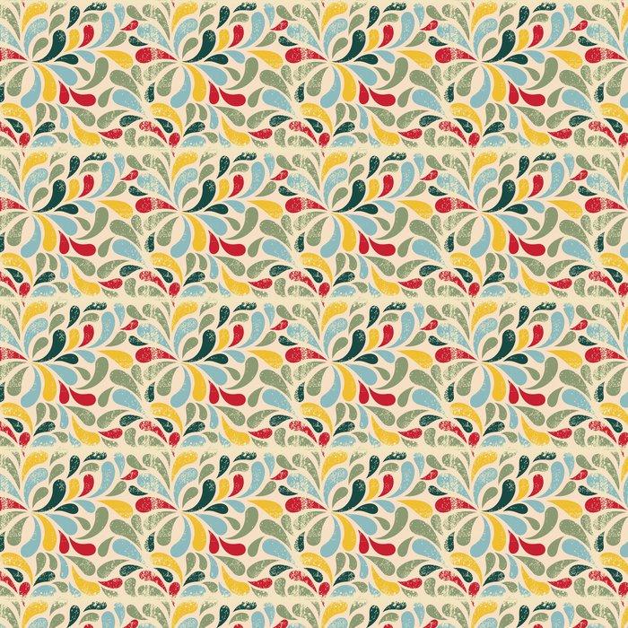 Vinylová Tapeta Barevné abstraktní bezešvé vzor - Pozadí