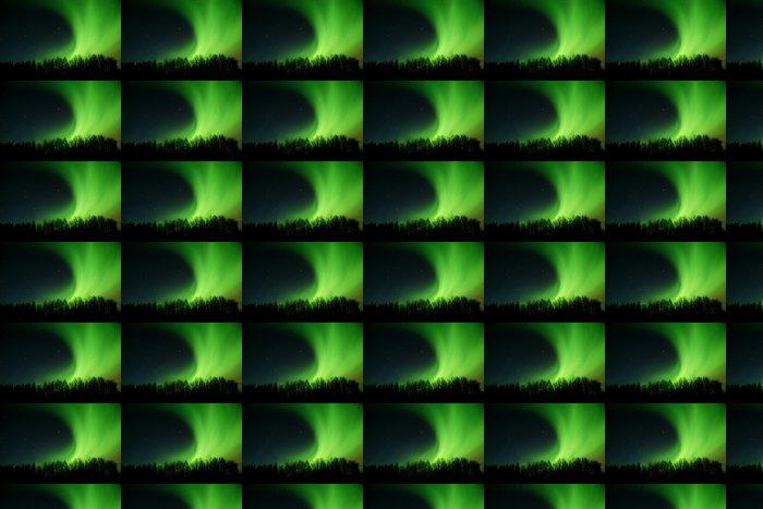 Vinylová Tapeta Aurora kolejových zpoza stromů - Přírodní krásy