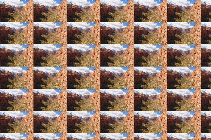 Vinylová Tapeta Pohled na kaňon v národním parku Zion, Utah - Amerika