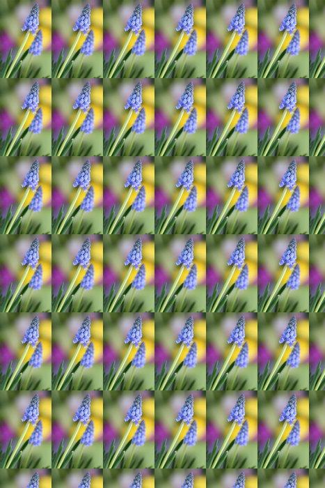Vinylová Tapeta Květiny (modřenec) - Květiny