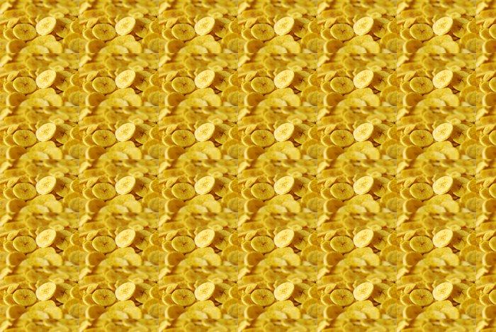 Vinylová Tapeta Banánové chipsy - Jídla