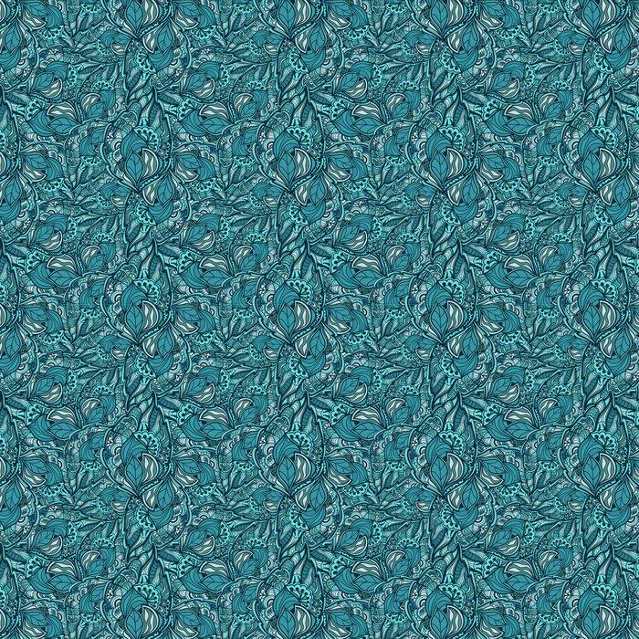 Vinylová Tapeta Bezešvé abstraktní ručně tažené vlny vzor - Slavnosti