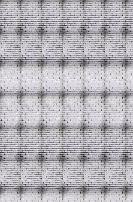 Vinylová Tapeta Pozadí bílé cihlové zdi textury - Témata