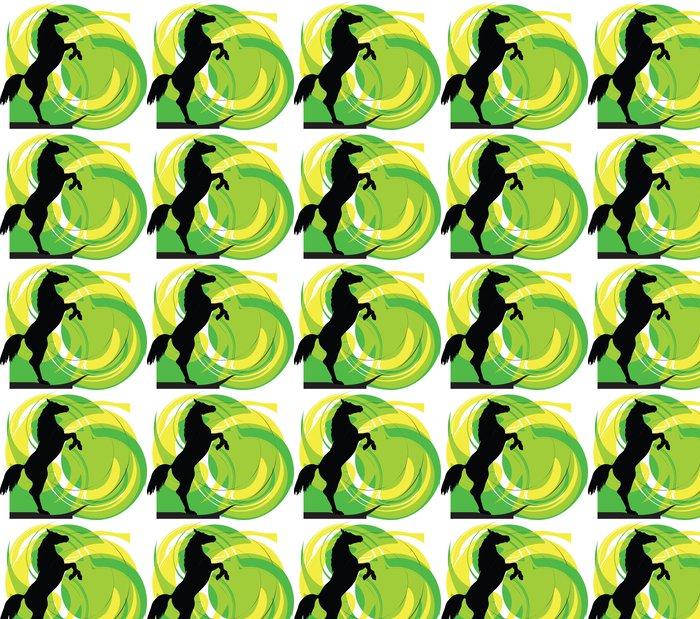 Vinylová Tapeta Abstract Horse - Umění a tvorba