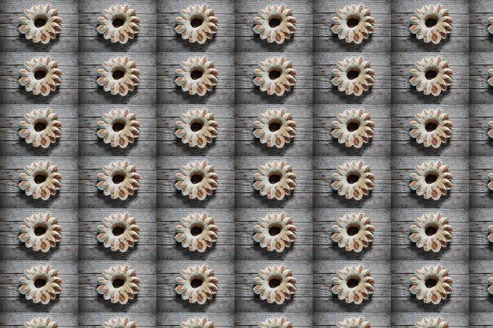 Vinylová Tapeta Chléb věnec na dovolenou, rustikální řemeslník styl - Jídlo