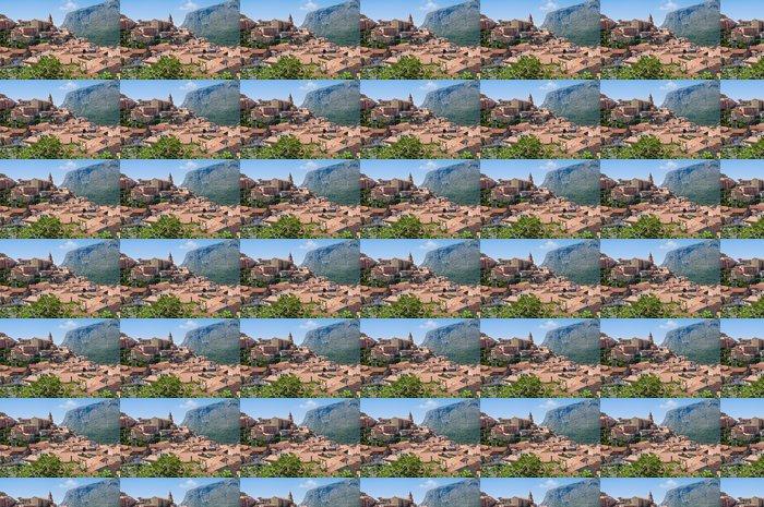 Tapeta winylowa Panoramiczny widok z Maratea. Basilicata. Włochy. - Wakacje