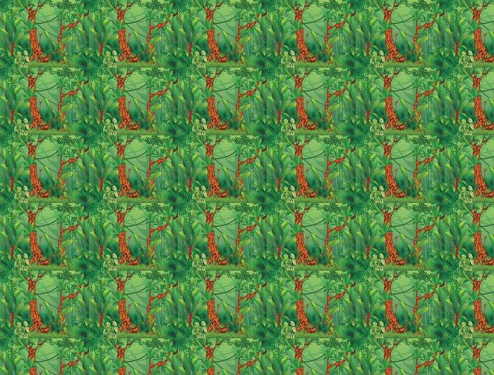 Vinylová Tapeta Exotický tropický prales - Rostliny