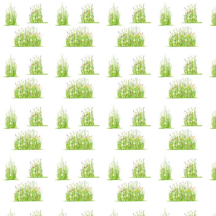 Vinylová Tapeta Zelená louka pro svůj design - Život
