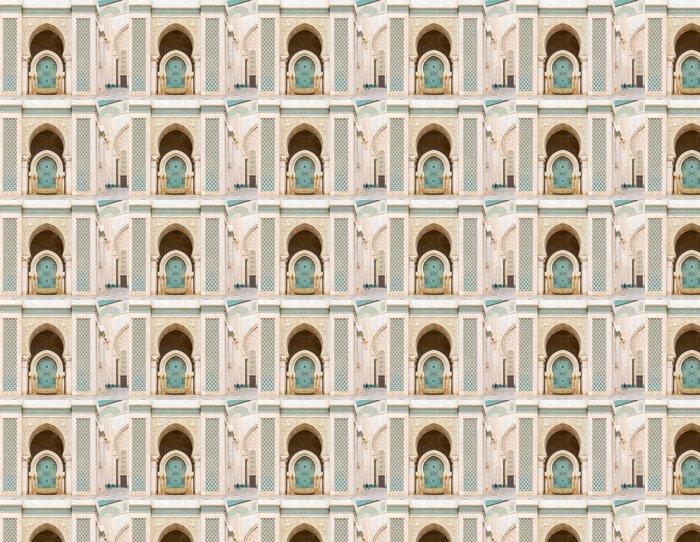 Vinylová Tapeta Detail Hassan II mešita v Casablanca, Maroko - Veřejné budovy