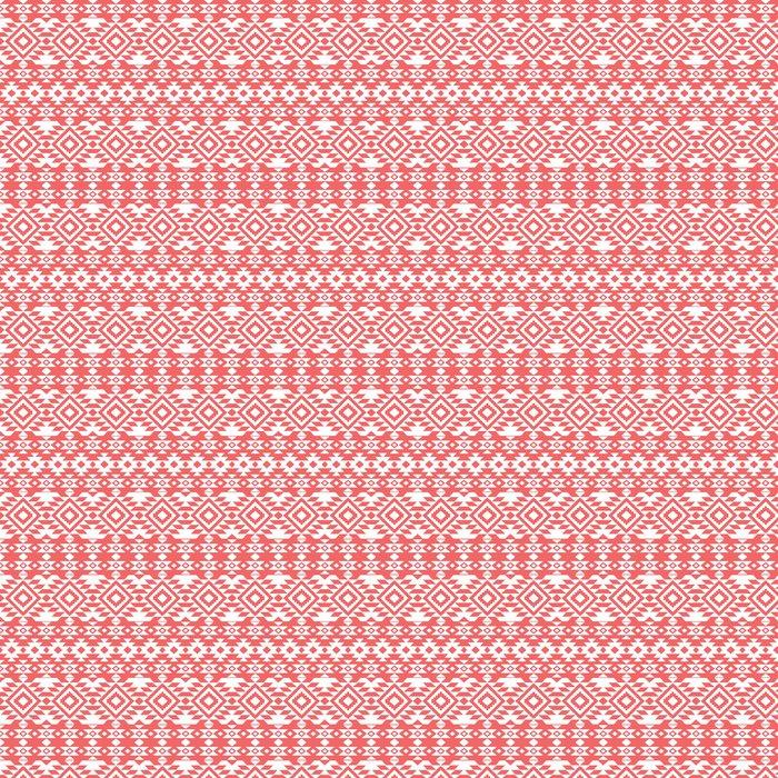 Abstract aztec ornamental pattern Vinyl Wallpaper - Styles