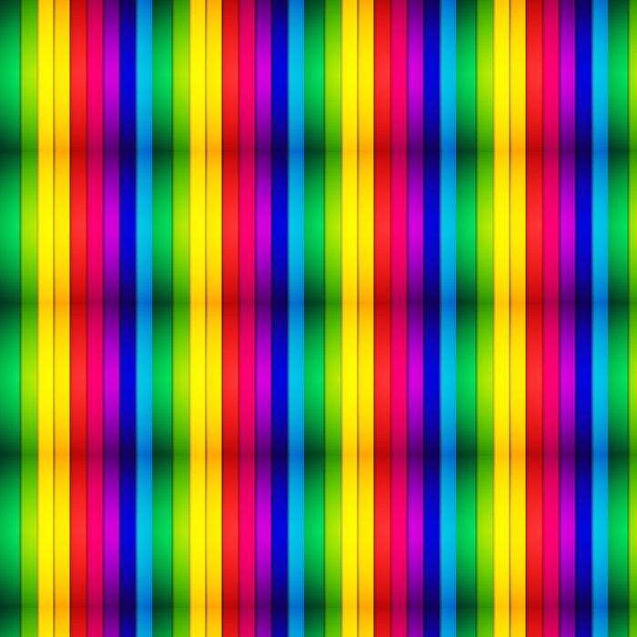 Vinylová Tapeta Abstraktní barevné pruhované pozadí. vektorové ilustrace - Pozadí