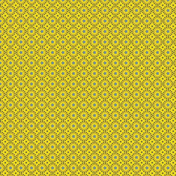 Vinylová Tapeta Bezešvé vzor na pozadí Abstraktní vektorové květiny - Pozadí