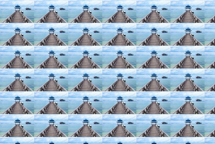 Vinylová Tapeta Vyrovnanost Boardwalk - Prázdniny