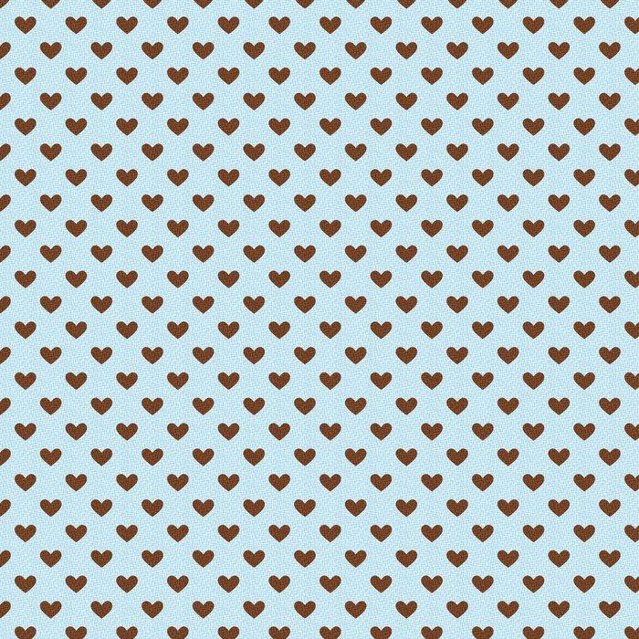 seamless heart texture pattern Vinyl Wallpaper - Backgrounds